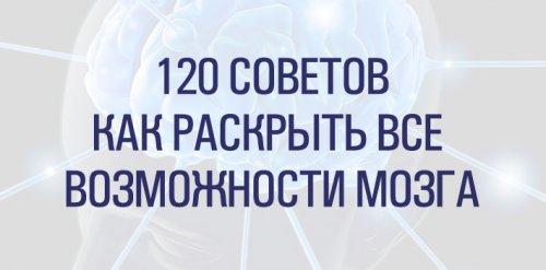120 Советов. Как раскрыть возможности мозга