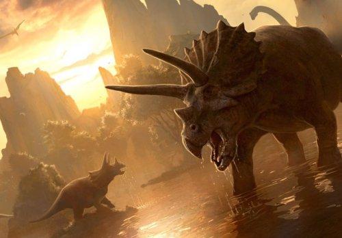 Динозавры вымерли два раза?