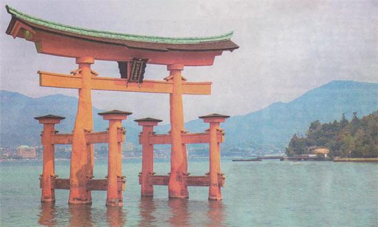 В мире духов - Японские храмы