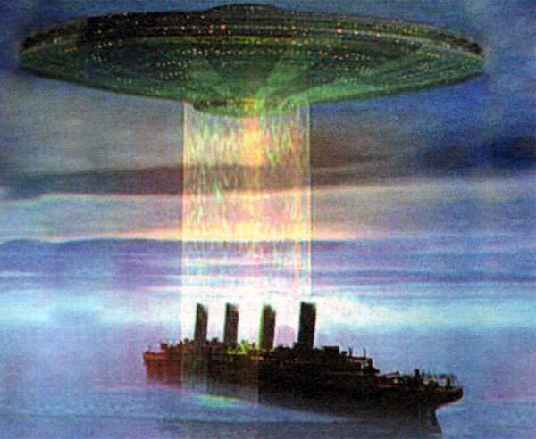 Экипаж судна стал жертвой нападения инопланетян