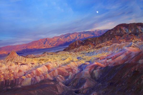 Национальный парк «Долина смерти» в Калифорнии