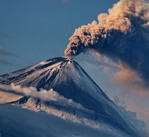 Нас спасают от жары - Вулканы