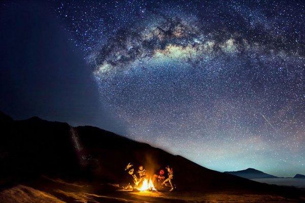 В ожидании извержения вулкана Бромо