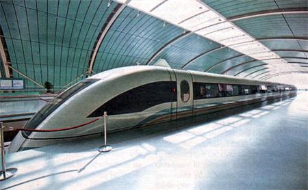 Супер поезд - Супер скорость! Китай впереди по скоростям!