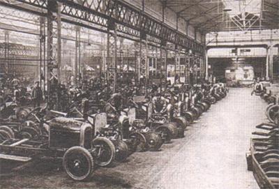 Производство «Ситроенов» в 1918 году