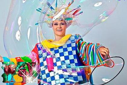 Детские конкурсы с мыльными пузырями