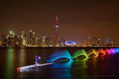 Цветные светодиоды для байдарки или каноэ - создание невероятных картин